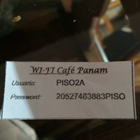 Photo taken at Panam Café by Fluying ✅. on 3/8/2014