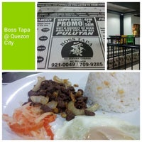 Photo taken at Boss Tapa by EdJoey_MD on 2/22/2014