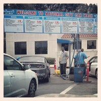 Photo taken at National City Car Wash by Paul A. on 7/6/2013