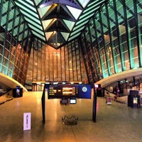 Photo taken at Station Aéroport Lyon Saint-Exupéry [Rhônexpress] by Michael P. on 1/19/2013