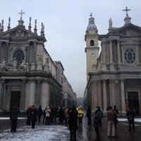 Photo taken at Fontana del Po by Maria K. on 12/14/2012