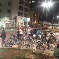 Photo taken at Praça do Ciclista by Evandro  ∞. on 11/2/2012
