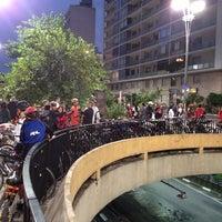 Photo taken at Praça do Ciclista by Evandro  ∞. on 3/29/2013