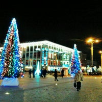 Снимок сделан в Европейская площадь пользователем Татьяна Б. 12/19/2012