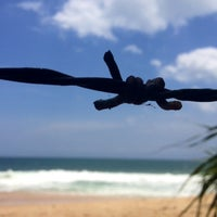 Photo taken at Tangalle Beach by Charith P. on 9/22/2013