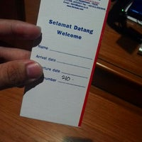Photo taken at Hotel Banjarmasin International (HBI) by Syauqi H. on 3/2/2015
