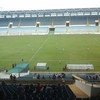 Photo taken at Estadio Monumental de Maturín by Monica M. on 9/17/2014