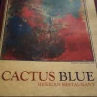 Photo taken at Cactus Blue by Natalia M. on 8/20/2014