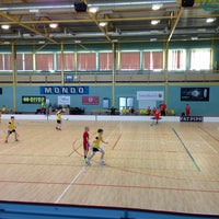 Photo taken at Lielvardes Sporta Halle by Brat2 on 3/27/2013
