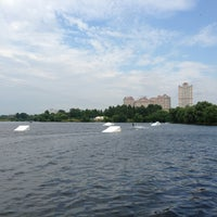 Photo taken at Траектория Wake Park by Павел on 7/14/2013