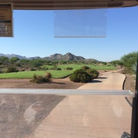 Photo taken at Copper Canyon Golf Club by Stacey G. on 8/16/2014