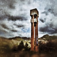 Photo taken at Weber State University- Stewart Bell Tower Plaza by Tyler on 9/12/2013