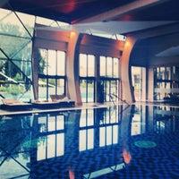 Photo taken at Hotel Spirit Thermal Spa by Anastasiya S. on 9/29/2013