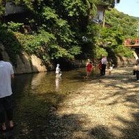 Photo taken at 猪野川 by HIRO on 5/31/2014
