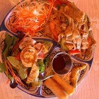 Photo taken at Jasmine Thai & Sushi House by Miranda on 8/30/2013
