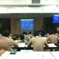 Photo taken at โรงเรียนนายทหารเรือชั้นต้น by Nooch G. on 10/15/2012