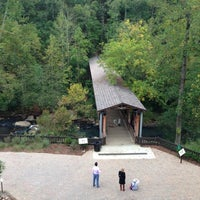 Photo taken at Old Mill Park by Adebayo A. on 9/29/2012