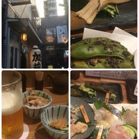 Photo taken at ぬる燗 三代目 加藤 田町店 by Masaya M. on 6/21/2016