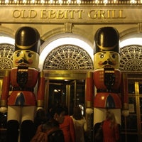 Photo taken at Old Ebbitt Grill by Alexey R. on 12/18/2012