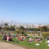 Photo taken at Mission Dolores Park by Jay R. on 7/20/2013