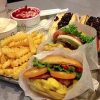 Photo taken at Shake Shack by Jay R. on 10/26/2012