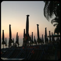 Photo taken at Bang Saen Beach by Red_angel on 3/28/2013