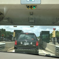 Photo taken at Hilton Head Toll Booth by Peggy B. on 7/6/2013