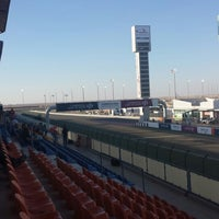 Photo taken at Workshop LOSAIL INTERNATIONAL CIRCUIT by Dale T. on 3/23/2014