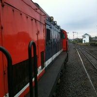 Photo taken at Stasiun Malang Kotabaru by Samuel J. on 12/15/2012