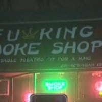 Photo taken at Fu King smoke shop by Winter M. on 8/14/2014