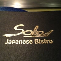 Photo taken at Soho Japanese Bistro by Seema S. on 10/31/2012