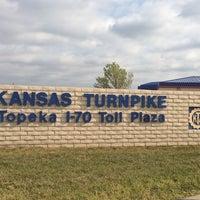 Photo taken at Kansas Turnpike Western Terminus by Shalon B. on 10/11/2013