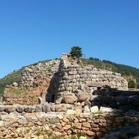 Photo taken at Nuraghe Palmavera by Barbara L. on 4/9/2014