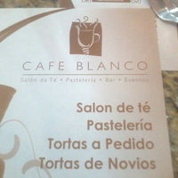 Photo taken at Café Blanco by Álvaro M. on 9/20/2012