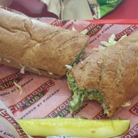 Photo taken at Firehouse Subs by Andrea T. on 5/28/2014