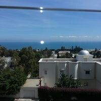 Photo taken at Villa Didon Hotel Carthage by Olfa K. on 4/17/2013
