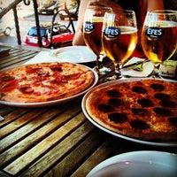 Photo taken at Vagabondo's Pizzeria & Ristorante by Kaan A. on 5/26/2013