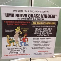 Photo taken at Teatro Silvio Romero by Robson C. on 5/5/2013