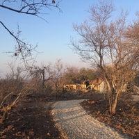 Photo taken at Mbizi Bush Lodge by Guanfu H. on 9/13/2016