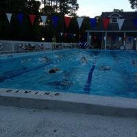Photo taken at Parkwood Pool by John &. on 7/10/2013