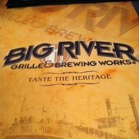 Photo taken at Big River Grille & Brewing Works by Laura Marie J. on 12/12/2012