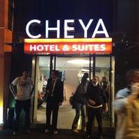 6/2/2013 tarihinde Nécatiziyaretçi tarafından Cheya Hotel & Suites - BesIktas/Istanbul'de çekilen fotoğraf