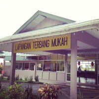 Photo taken at Mukah Airport (MKM) by Rayn_ R. on 2/4/2013