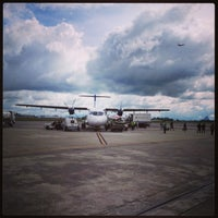 Photo taken at Kuching International Airport (KCH) by Rayn_ R. on 2/3/2013
