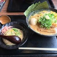 Photo taken at 北海道らぁめん 伝丸 津乙部店 by ビスケットさん on 10/8/2016