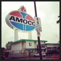 Photo taken at World's Largest Amoco Sign by Leigh Anna T. on 5/3/2013
