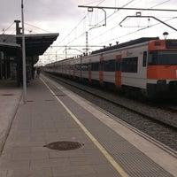 Снимок сделан в RENFE El Masnou пользователем Antonio R. 4/19/2014