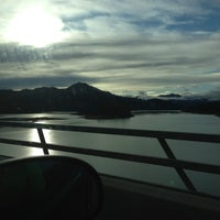 Photo taken at Pit River Bridge (VFW Memorial Bridge) by Barbara B. on 12/26/2012