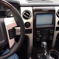 Photo taken at Harper Motors by Barbara B. on 3/4/2014