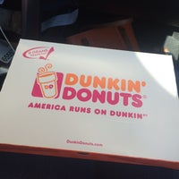 Photo taken at Dunkin' Donuts by Barbara B. on 6/22/2014